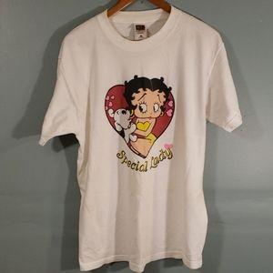 betty boop t shirt SZ L